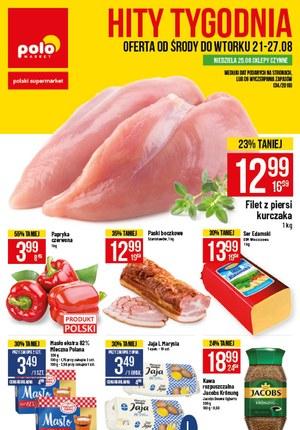 Gazetka promocyjna POLOmarket, ważna od 21.08.2019 do 27.08.2019.