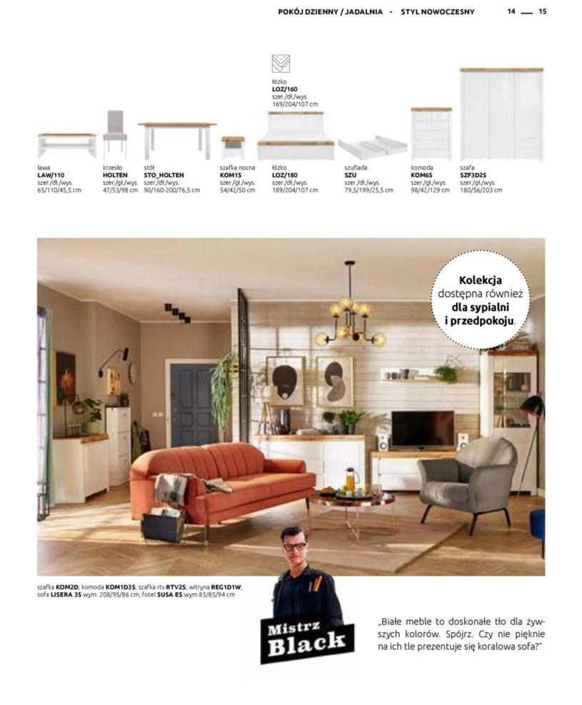 Gazetka: Katalog rodzinnych wnętrz - strona 15