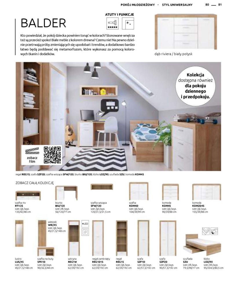 Gazetka: Katalog rodzinnych wnętrz - strona 81