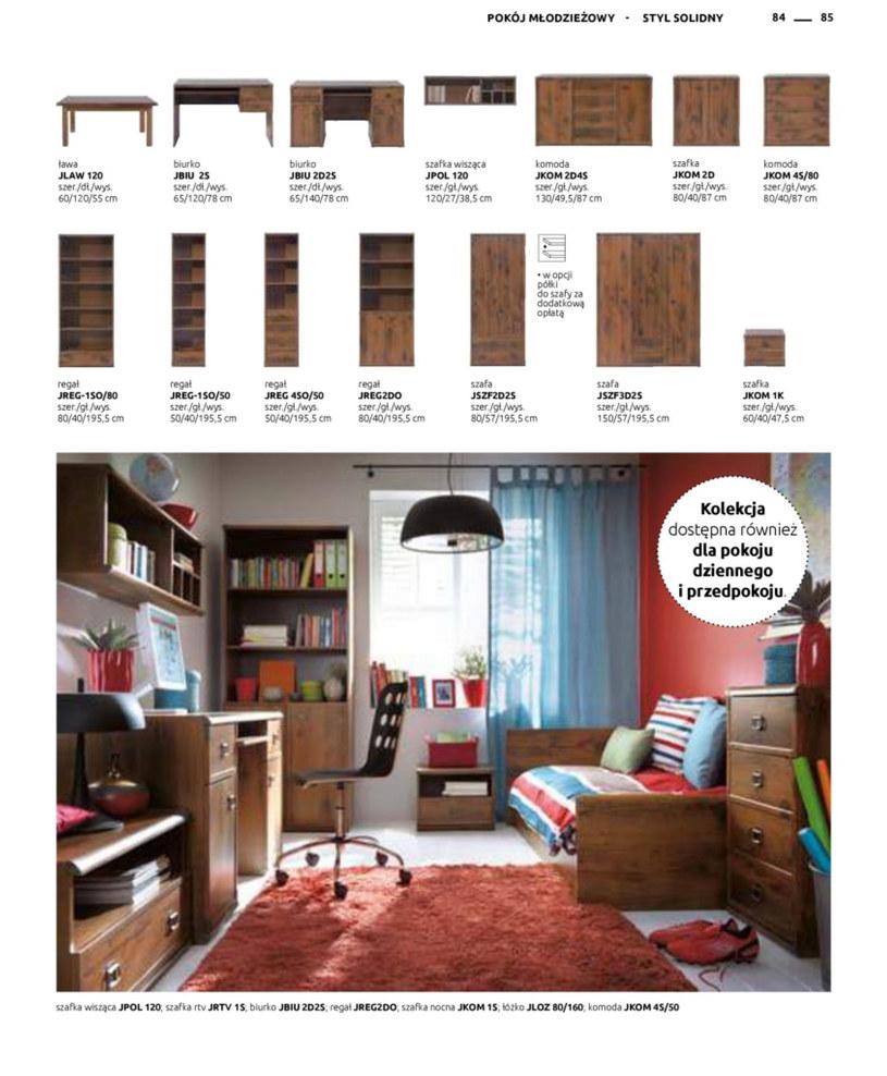 Gazetka: Katalog rodzinnych wnętrz - strona 85