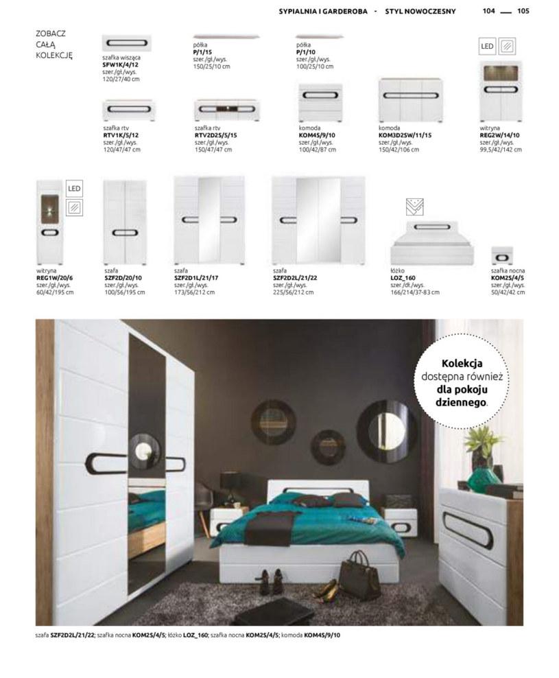 Gazetka: Katalog rodzinnych wnętrz - strona 105
