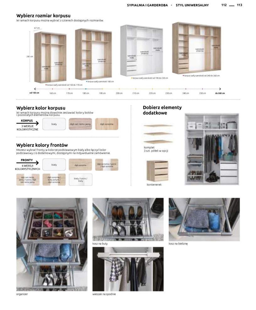 Gazetka: Katalog rodzinnych wnętrz - strona 113