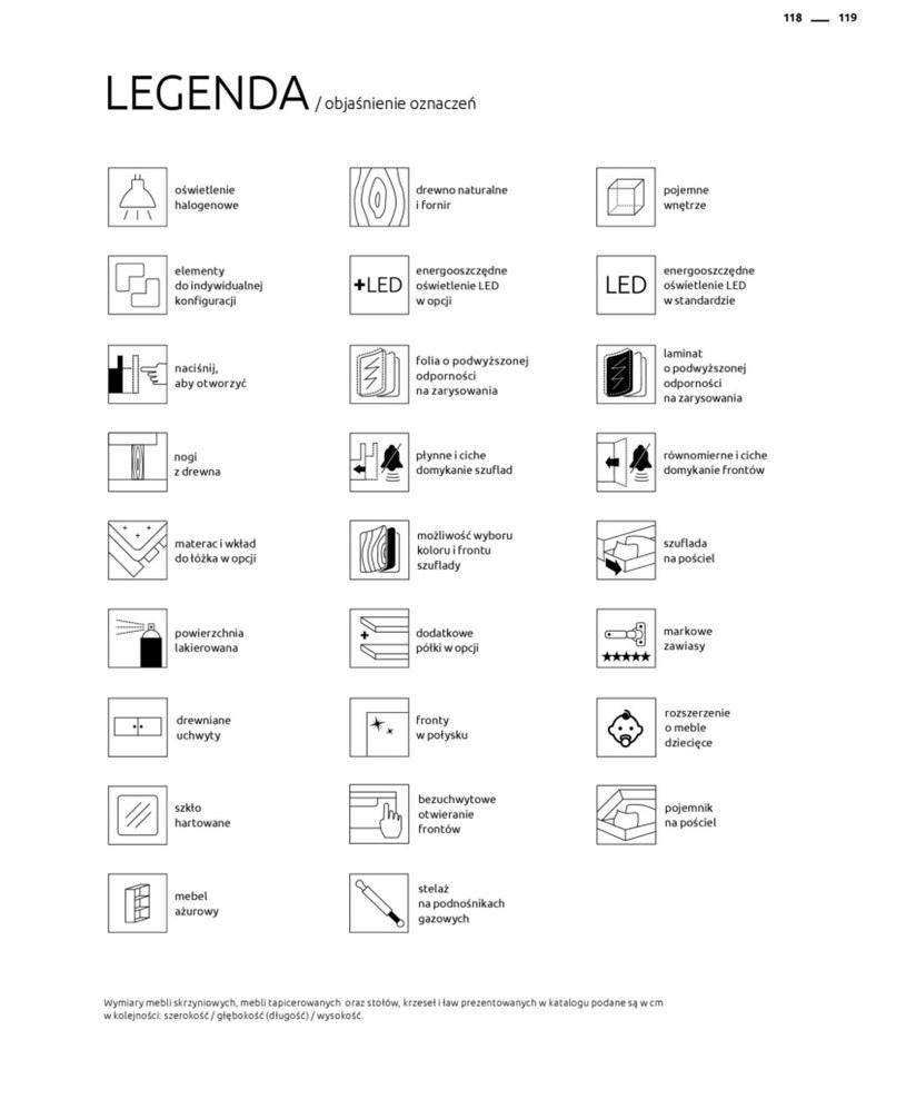 Gazetka: Katalog rodzinnych wnętrz - strona 119