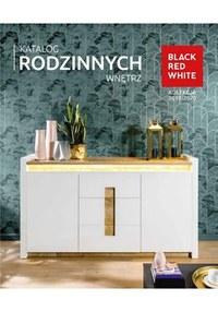 Gazetka promocyjna Black Red White - Katalog rodzinnych wnętrz - ważna do 30-06-2020