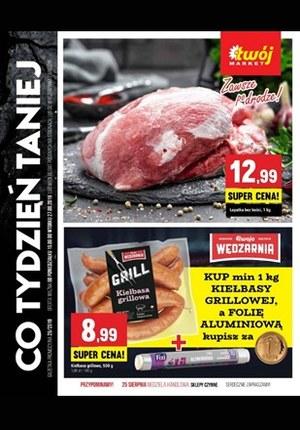 Gazetka promocyjna Twój Market, ważna od 19.08.2019 do 27.08.2019.