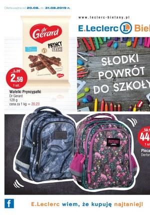 Gazetka promocyjna E.Leclerc, ważna od 20.08.2019 do 31.08.2019.