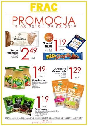 Gazetka promocyjna FRAC, ważna od 19.08.2019 do 25.08.2019.