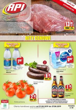 Gazetka promocyjna Api Market, ważna od 21.08.2019 do 27.08.2019.