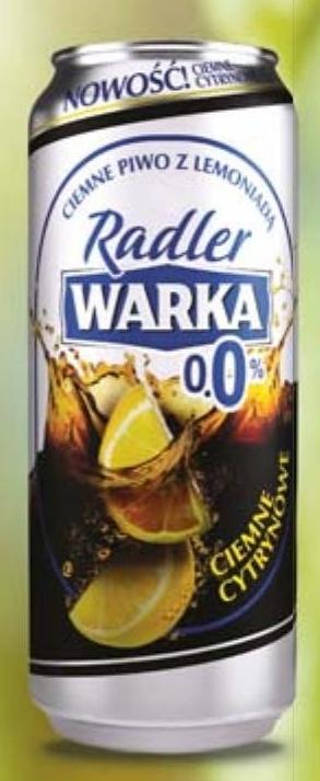 Piwo Warka Radler niska cena