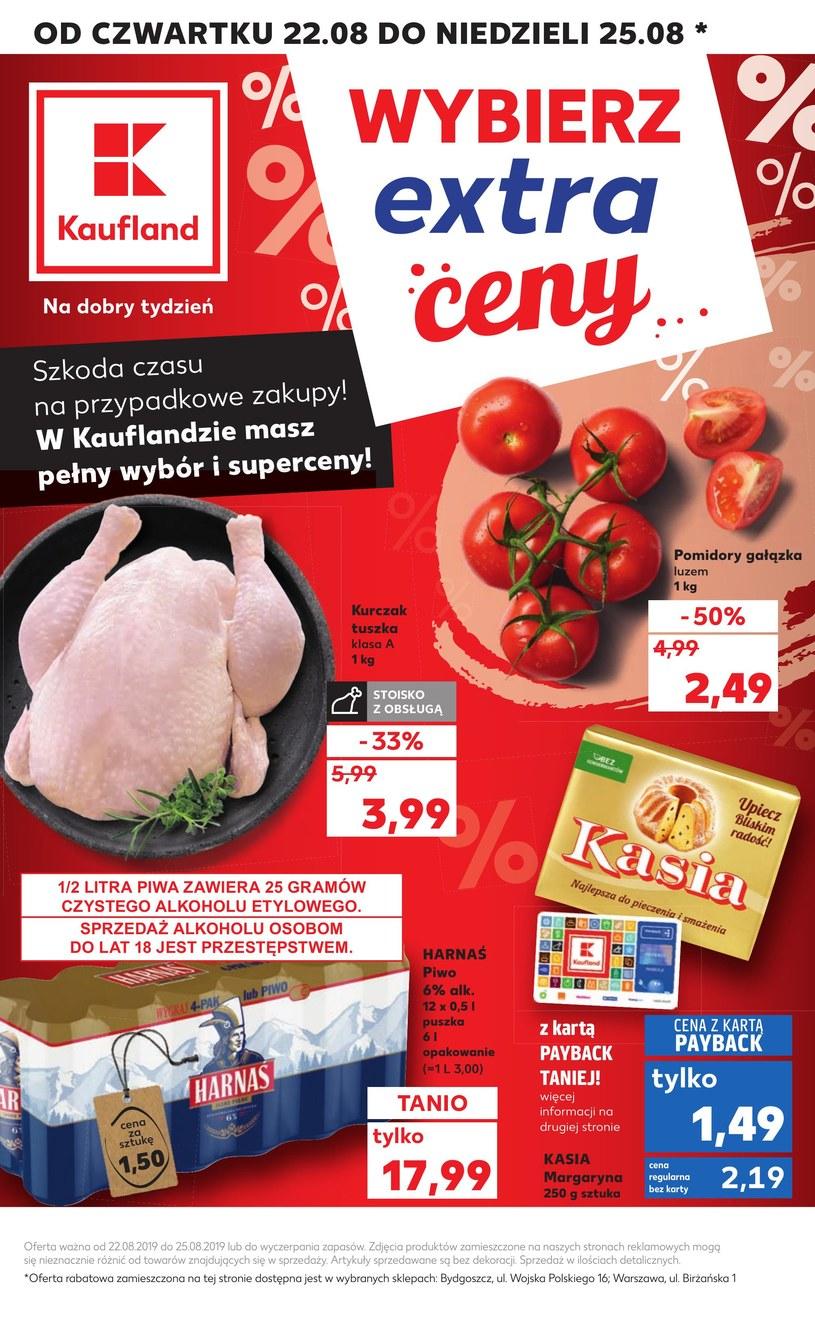 Gazetka promocyjna Kaufland - ważna od 22. 08. 2019 do 28. 08. 2019