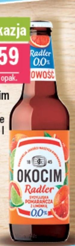 Piwo Okocim Radler niska cena