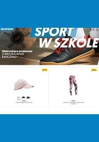Gazetka promocyjna Decathlon - Sport w szkole - ważna do 15-09-2019