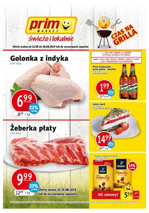 Gazetka promocyjna Prim Market, ważna od 22.08.2019 do 28.08.2019.