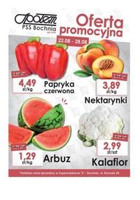 Gazetka promocyjna PSS Bochnia, ważna od 22.08.2019 do 28.08.2019.