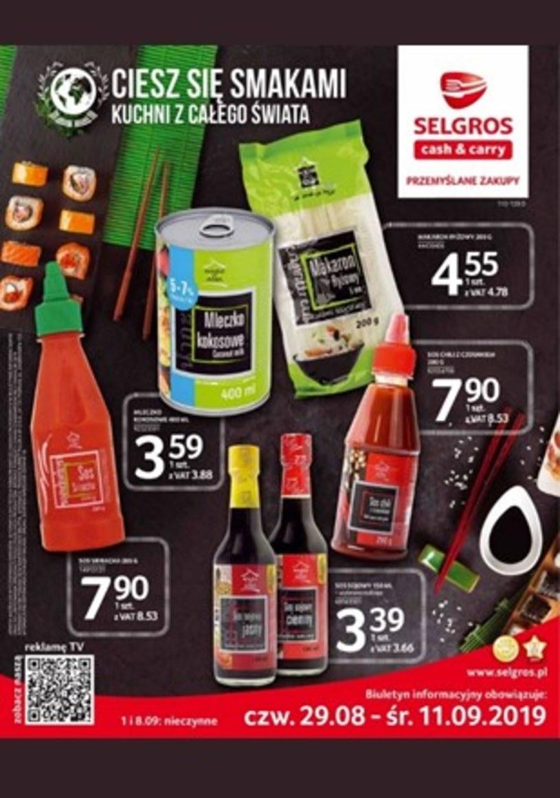 Gazetka promocyjna Selgros Cash&Carry - ważna od 29. 08. 2019 do 11. 09. 2019