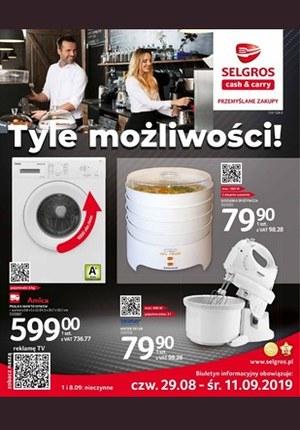 Gazetka promocyjna Selgros Cash&Carry, ważna od 29.08.2019 do 11.09.2019.