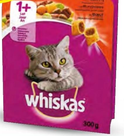 Karma sucha dla kota Whiskas niska cena