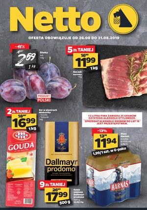 Gazetka promocyjna Netto, ważna od 26.08.2019 do 31.08.2019.