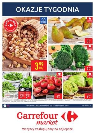 Gazetka promocyjna Carrefour Market, ważna od 27.08.2019 do 02.09.2019.
