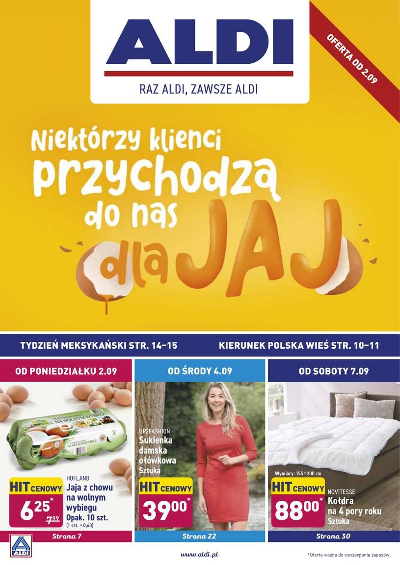 Gazetka promocyjna Aldi - ważna od 02. 09. 2019 do 07. 09. 2019