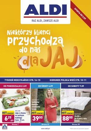 Gazetka promocyjna Aldi, ważna od 02.09.2019 do 07.09.2019.