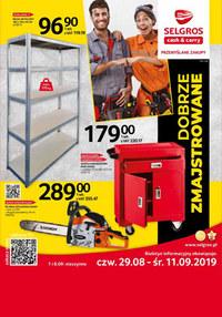Gazetka promocyjna Selgros Cash&Carry - Dobrze zmajstrowane - ważna do 11-09-2019