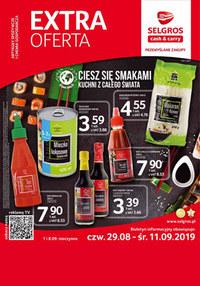 Gazetka promocyjna Selgros Cash&Carry - Extra oferta  - ważna do 11-09-2019
