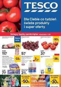 Gazetka promocyjna Tesco Centra Handlowe - Świeże produkty i super oferty - ważna do 04-09-2019