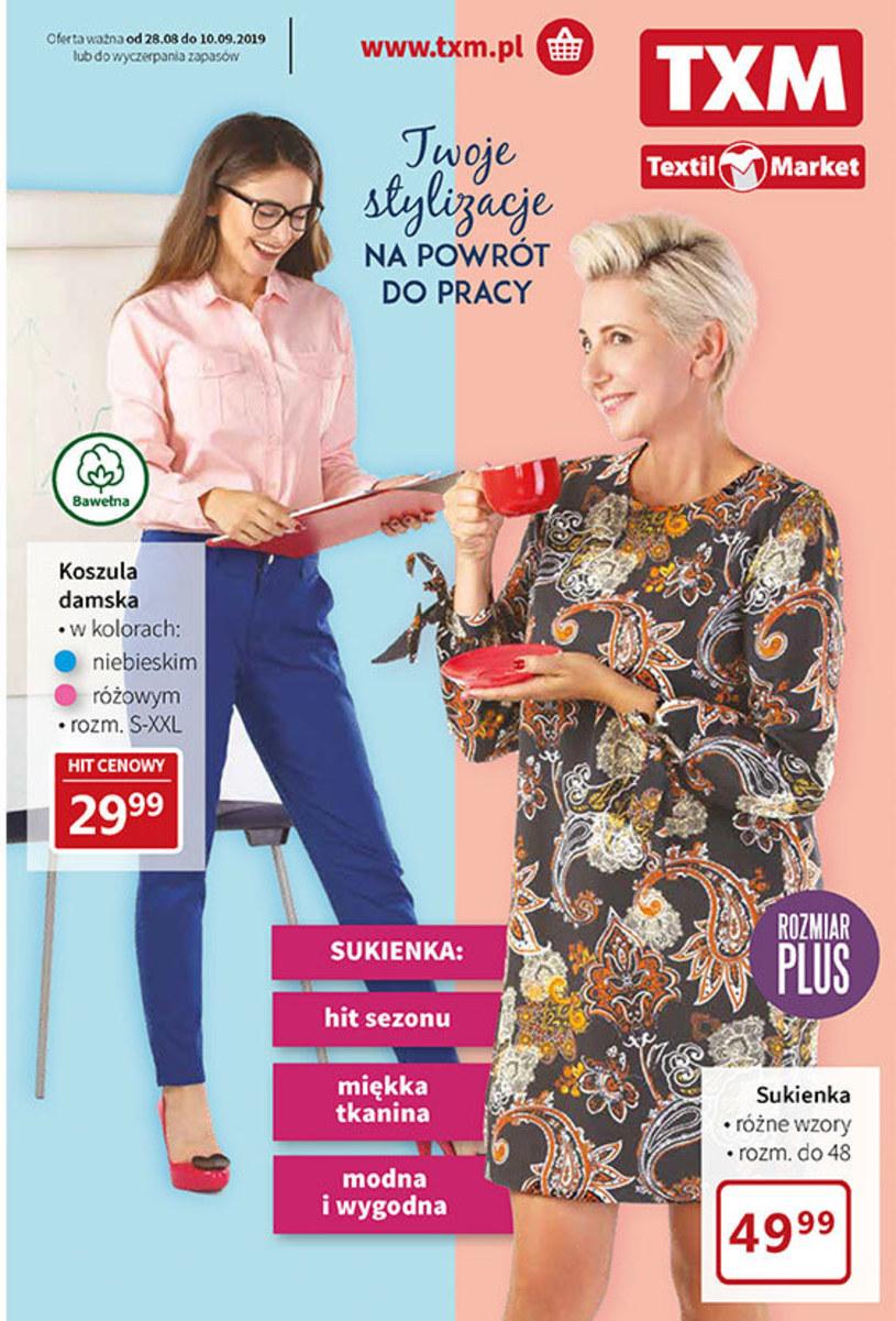 Gazetka promocyjna Textil Market - wygasła 12 dni temu