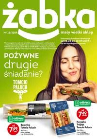 Gazetka promocyjna Żabka - Pożywne drugie śniadanie - ważna do 10-09-2019