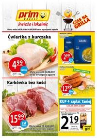 Gazetka promocyjna Prim Market - Czas na grill - ważna do 04-09-2019