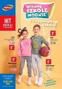 Gazetka promocyjna Pepco - Witamy szkołę modnie  - ważna do 11-09-2019