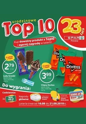 Gazetka promocyjna SPAR - TOP 10