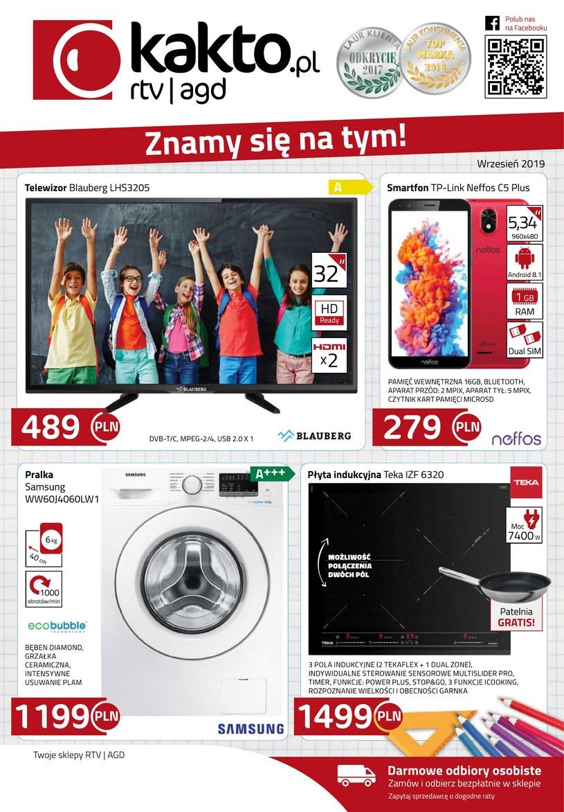 Gazetka promocyjna Kakto.pl - wygasła 16 dni temu