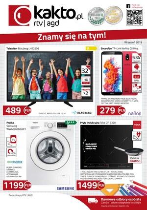 Gazetka promocyjna Kakto.pl, ważna od 30.08.2019 do 30.09.2019.