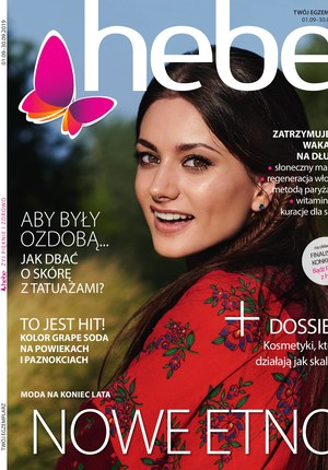 Gazetka promocyjna Hebe, ważna od 01.09.2019 do 30.09.2019.