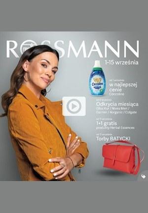 Gazetka promocyjna Rossmann, ważna od 01.09.2019 do 15.09.2019.