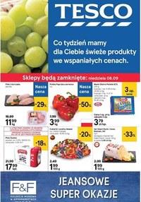 Gazetka promocyjna Tesco Centra Handlowe - Gazetka promocyjna - ważna do 11-09-2019