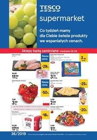 Gazetka promocyjna Tesco Supermarket - Gazetka promocyjna - ważna do 11-09-2019