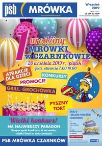 Gazetka promocyjna PSB Mrówka - Urodziny - Czarnków - ważna do 30-09-2019