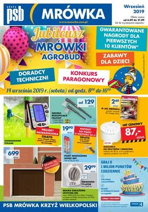 Gazetka promocyjna PSB Mrówka - Jubileusz - Krzyż Wielkopolski