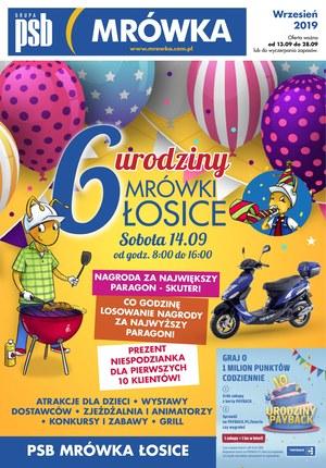 Gazetka promocyjna PSB Mrówka - 6 Urodziny - Łosice