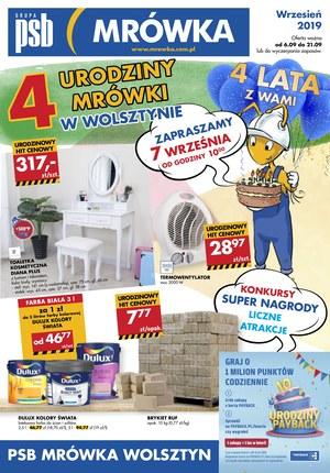 Gazetka promocyjna PSB Mrówka - Urodziny - Wolsztyn