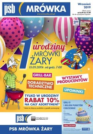 Gazetka promocyjna PSB Mrówka - Urodziny - Żary