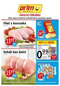 Gazetka promocyjna Prim Market - Gazetka promocyjna - ważna do 11-09-2019
