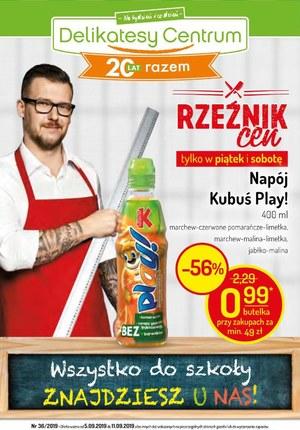 Gazetka promocyjna Delikatesy Centrum, ważna od 05.09.2019 do 11.09.2019.