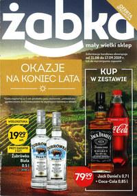 Gazetka promocyjna Żabka - Okazje na koniec lata - ważna do 17-09-2019