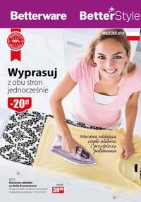 Gazetka promocyjna Betterware, ważna od 01.09.2019 do 30.09.2019.