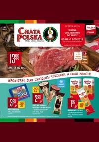 Gazetka promocyjna Chata Polska - Oferta handlowa - ważna do 11-09-2019