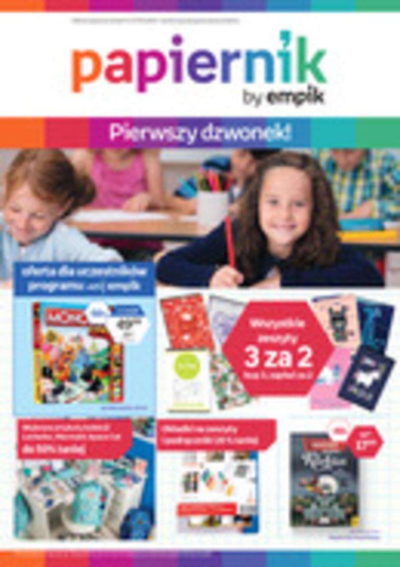 Gazetka promocyjna Papiernik by Empik - ważna od 04. 09. 2019 do 17. 09. 2019